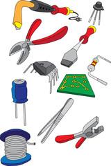 Инструмент предназначенный для ремонта электроники