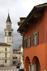 Church of Saint Ignatius in Gorizia. Italy