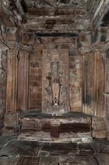 The sun god Surya inside of Chitragupta temple in  Khajuraho