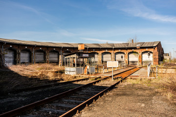 DDR Eisenbahnbetrieb Lokschuppen