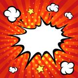 Comic speech bubble, comic backgound - 81830021
