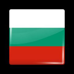 Flag of Bulgaria. Glossy Icons