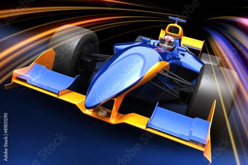 Foto op Plexiglas F1 Formula One race car