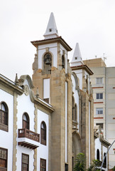 Church of San Jose in Santa Cruz de Tenerife. Spain