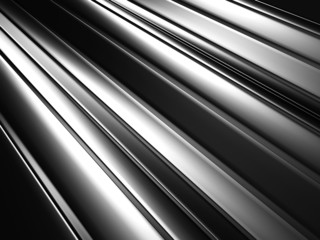 Silver Metallic Textured Abstract Background
