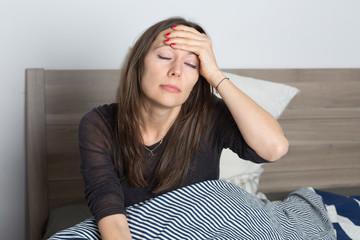 Aufstehen mit Kopfschmerzen
