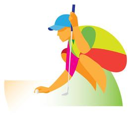 golfer_sitting
