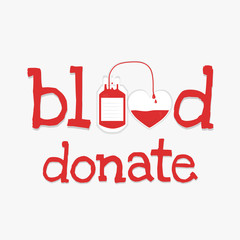 blood donate word
