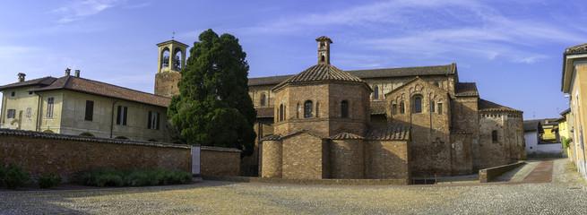 Lomello (Pavia): San Giovanni ad Fontes Church. Color image