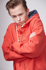 young guy in a sports jacket