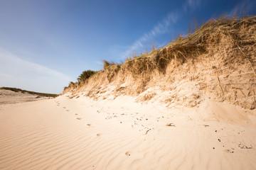 Strand bei Portbail, Normandie - Frankreich