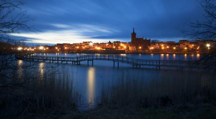 Mostek spacerowy w Chełmży