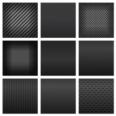 Carbon and fiber texture seamless pattern backgrounds