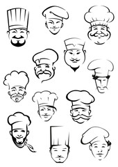 Professional chefs in toques from around the world