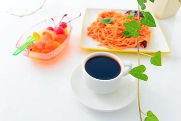 コーヒーとスパゲティ