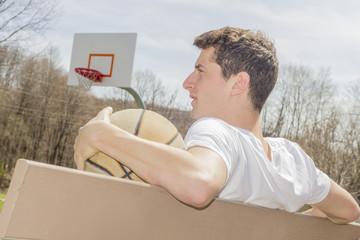 Young Man Basketball