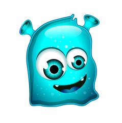 Blue Jelly Monster