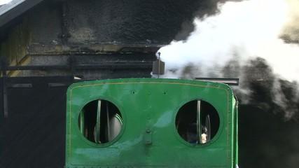 Steam locomotive narrow