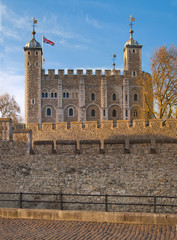 LONDON, UK - APRIL15, 2015: Tower of London (started 1078)