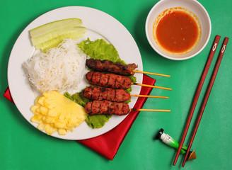 Beef salad Vietnam style