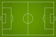 soccer field vector illustration - 81843490