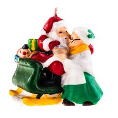 Santa Claus Candle