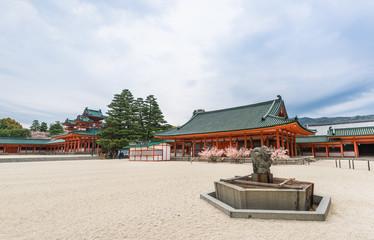 京都 平安神宮 境内