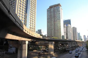 trafic in city