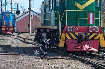 obsolete shunting train