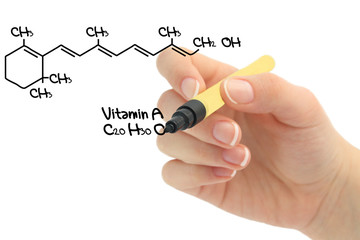 Chemical formula of Vitamin A