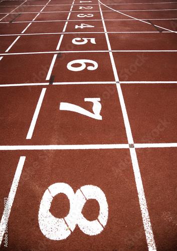 Poster Pista de atletismo