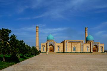 Famous Islamic complex in Tashkent, Uzbekistan