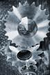 aerospace cogwheels and gears in pure titanium
