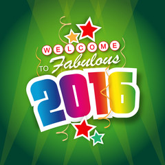 Welcome to fabulous 2016