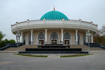 Amir Timur museum in Tashkent , Uzbekistan
