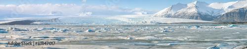 Leinwandbild Motiv vatnajokull Glacier Iceland