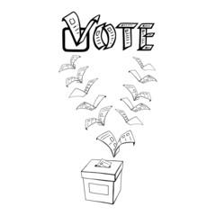 vote or voting