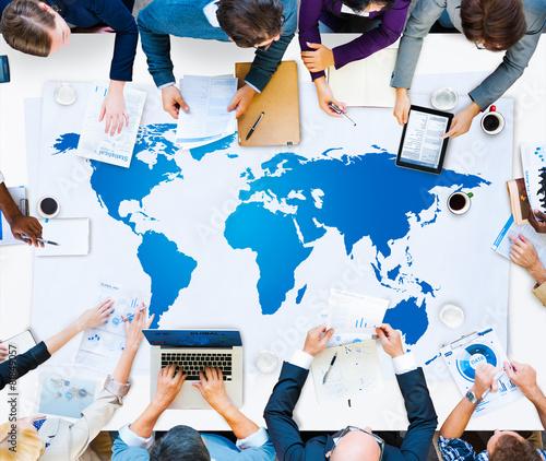 World Global Cartography Globalization Earth International - 81849057