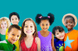 Diversity Children Friendship Innocence Smiling Concept - 81849479