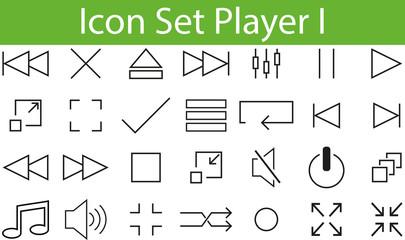 Icon Set Player I