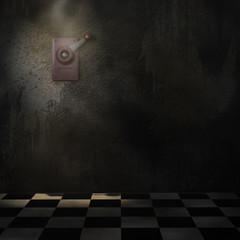 Notschalter Wand Boden Spot