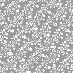 Seamless floral pattern wallpapers in the style of Baroque . Can