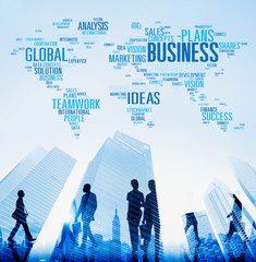 Global Business Opportunity Growth Organisation Concept