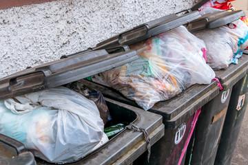 Müll Container Abfallwirtschaft