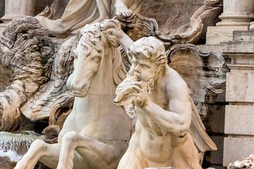 Italien, Rom, Trevi Brunnen