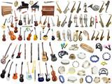 Fototapety music instruments