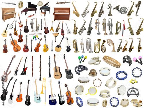 music instruments - 81853667