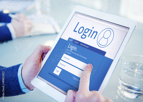 Login Registration Membership Register Join Subscribe Concept