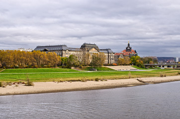 Saxon State Chancellery building - Dresden, Germany