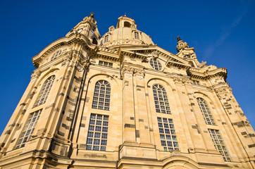 Old Frauenkirche in Dresden, Germany